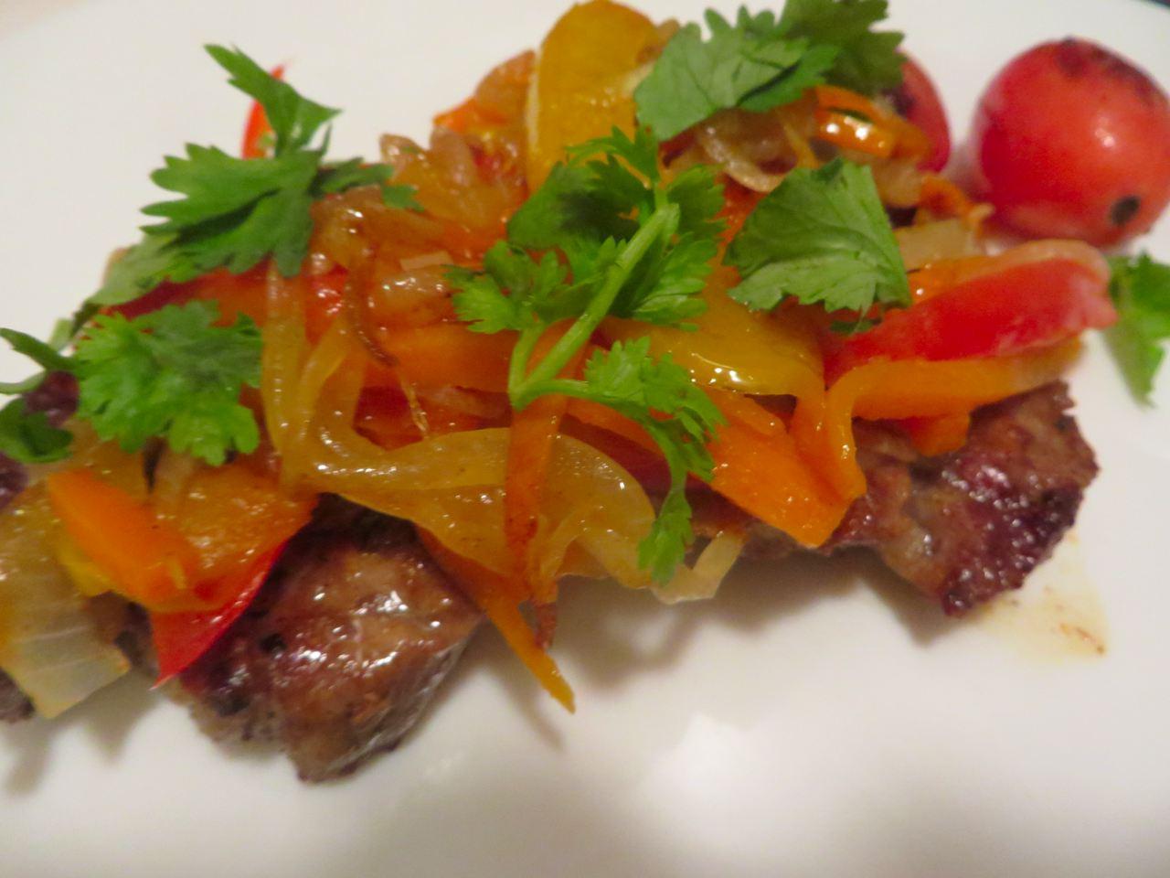 Schweinefleisch Vegetables Rezept